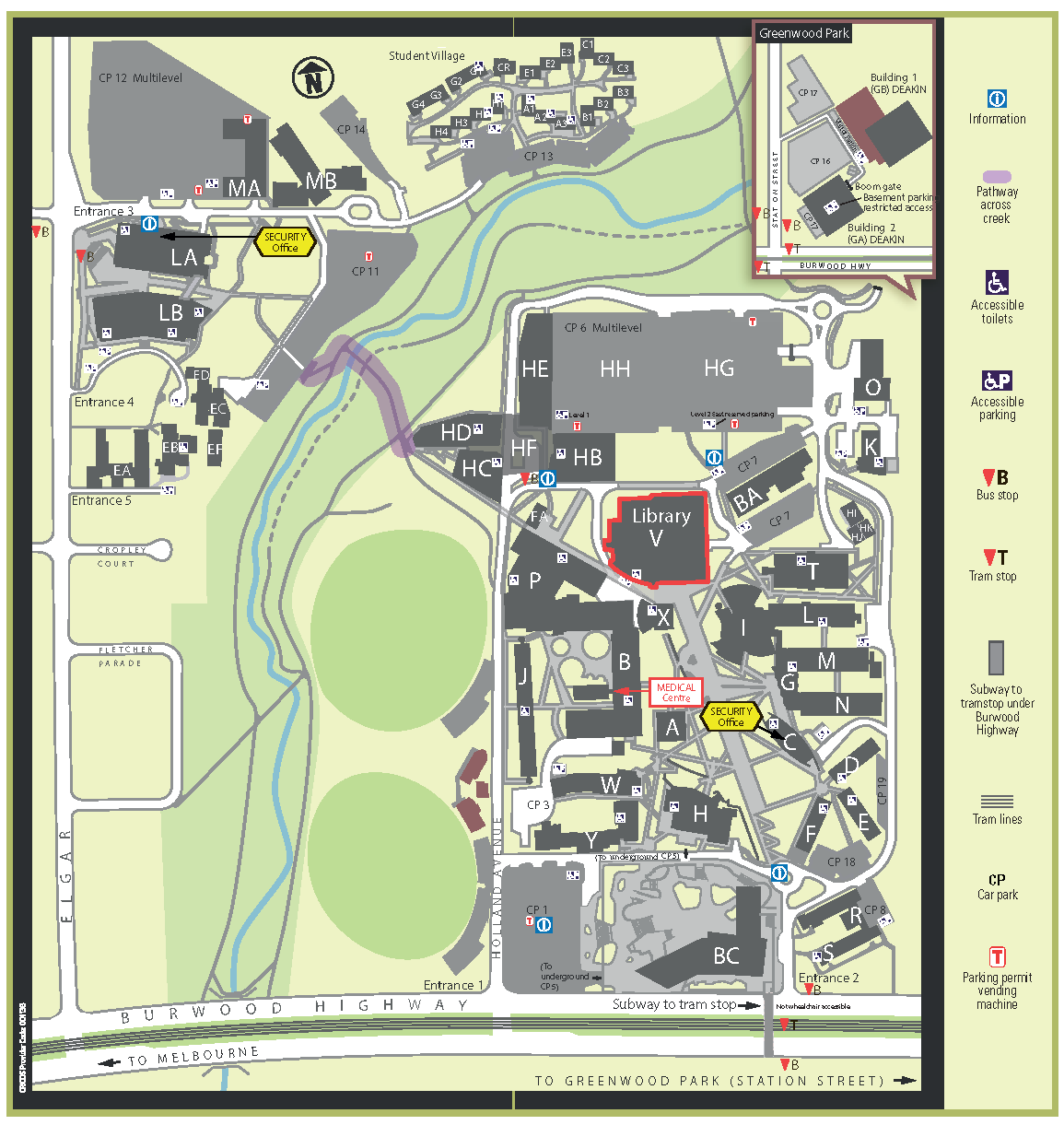 Deakin University Map Deakin University Map | compressportnederland Deakin University Map